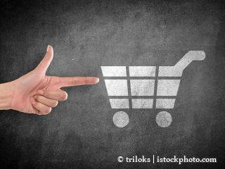 638574104-Hand pointing at shopping cart icon